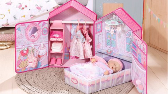 Baby Annabell Bedroom Now 163 31 99 Was 163 59 99 Argos