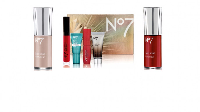 Deal Stack: Two No7 Gel Finish Nail Polish Plus FREE No7 Stand Out ...