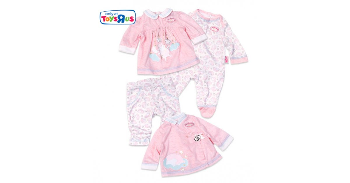 Baby Annabell 4 Outfit Fashion Set Just £6.96 @ Toys R Us