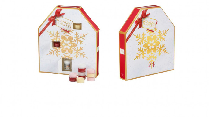 yankee candle snowflake advent calendar was. Black Bedroom Furniture Sets. Home Design Ideas