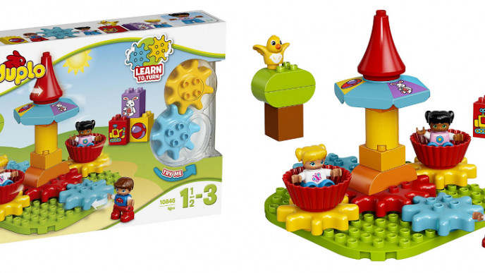 Lego Duplo My First Carousel Educational Toy £10 (was £19 ...