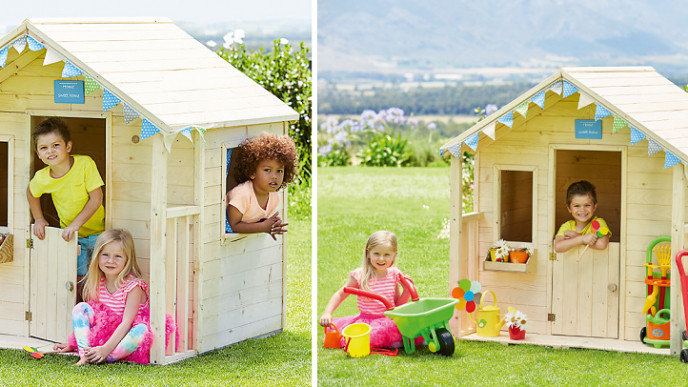 Save 100 On Elc Wooden Playhouse At Elc