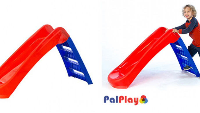 PalPlay Fun 'n' Fold Junior Slide £18 99 @ Home Bargains