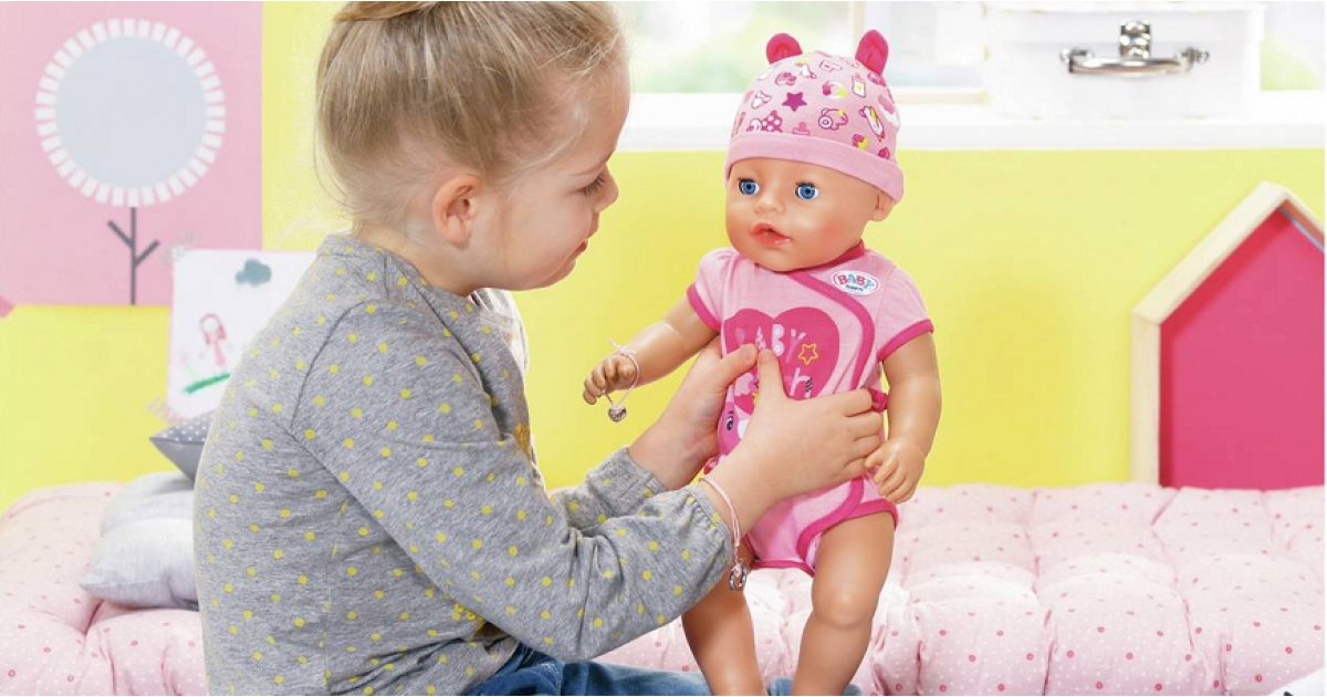Baby Born Soft Touch Interactive Baby Boy or Baby Girl Doll £22.49 @ Argos
