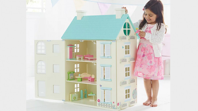 Wooden Light Up Dolls House 30 Was 50 At Asda George