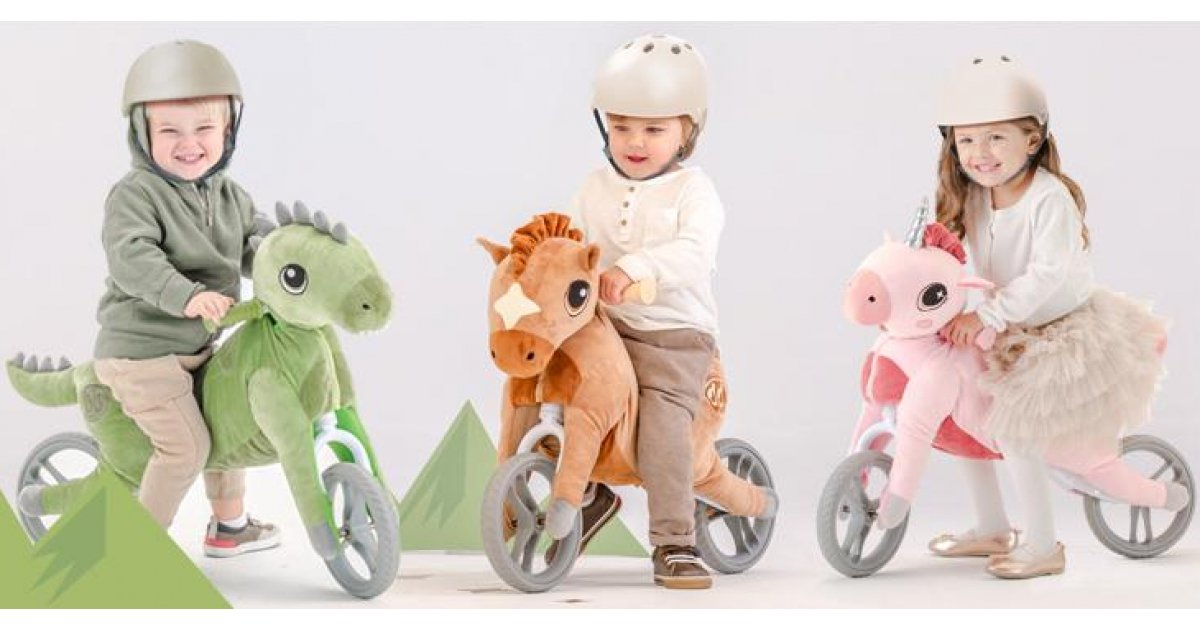 NEW My Buddy Wheels Balance Bikes @ Halfords