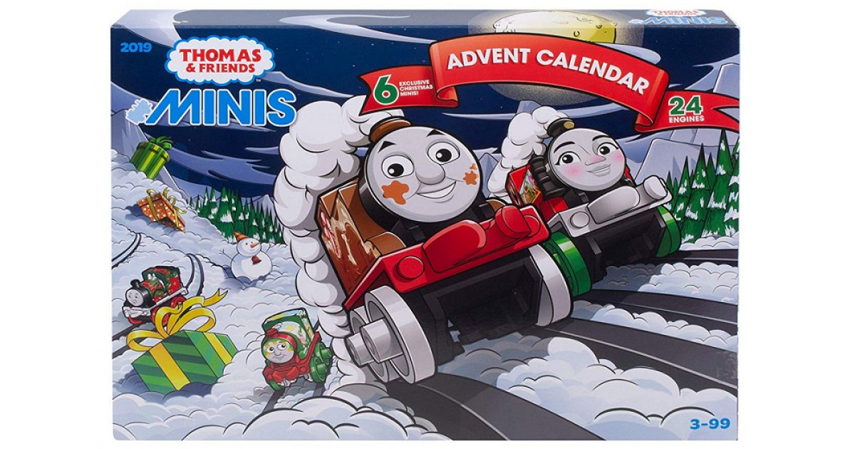 where to buy thomas friends minis advent calendar in the. Black Bedroom Furniture Sets. Home Design Ideas