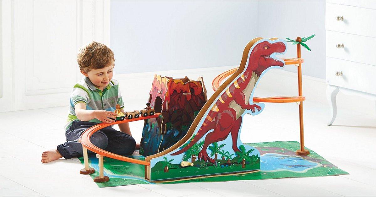 Wooden Dinosaur Train Set £22.50 @ Asda George