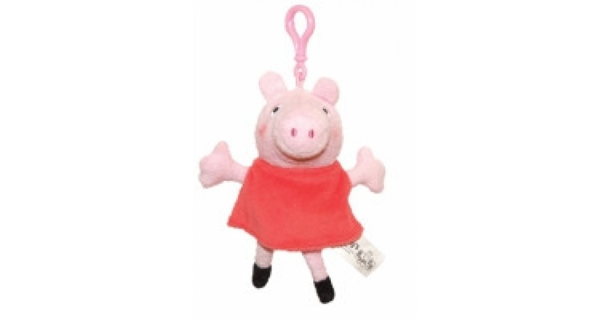 Support Tommy S With Peppa Pig Bags For Life And Keyrings 2 Asda