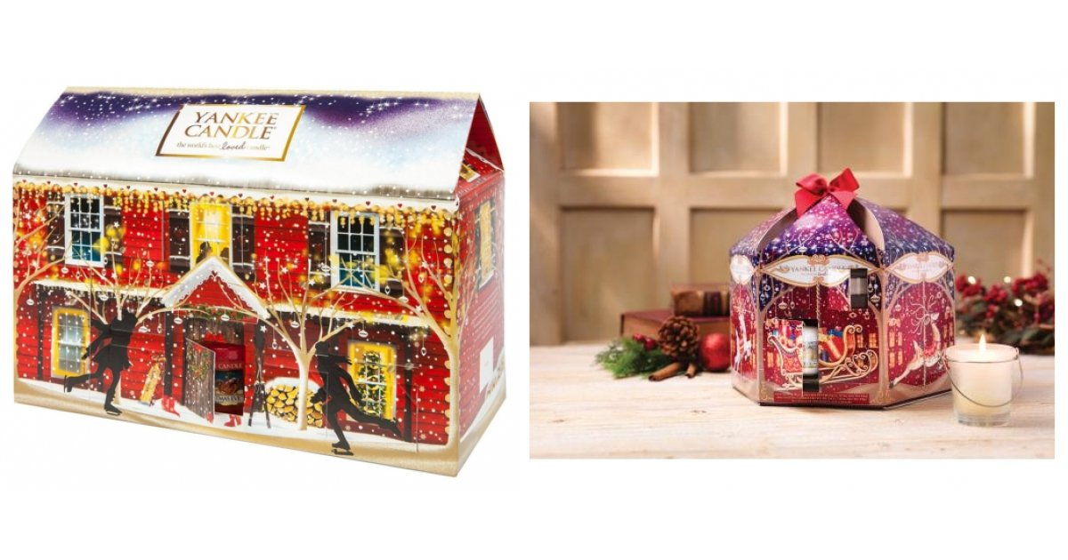 expired yankee candle 2015 advent calendar carousel 19. Black Bedroom Furniture Sets. Home Design Ideas