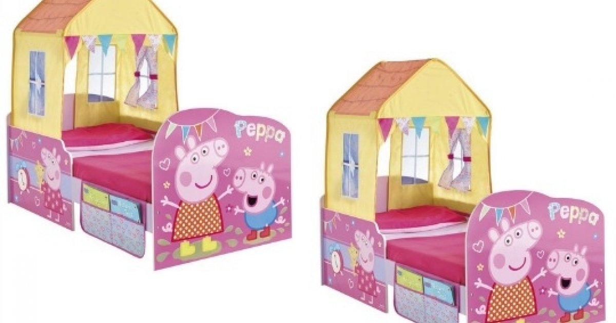 Peppa Pig Hellohome Startime Toddler Bed 115 67 Delivered Amazon