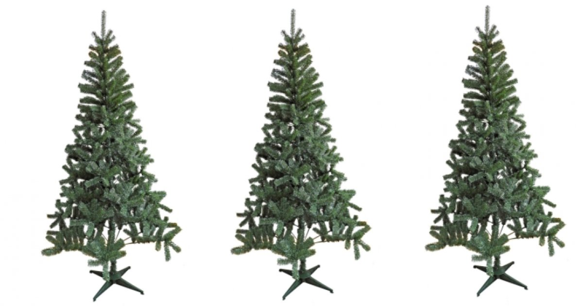 7ft Green Montana Artificial Christmas Tree £10 @ Homebase