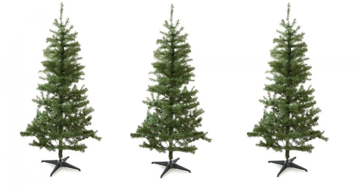 6ft Round Tip Green Christmas Tree £7.50 @ Asda George
